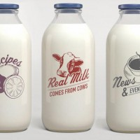 Got Milk Bottles
