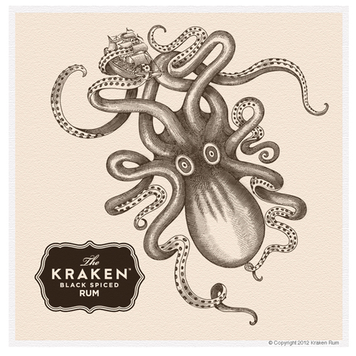 Kraken Rum Animations