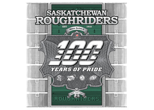 Roughriders- CFL Stock Share