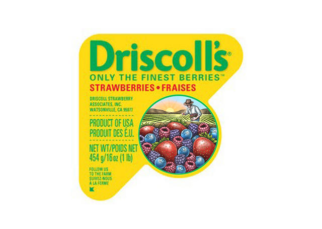 Driscoll's packaging