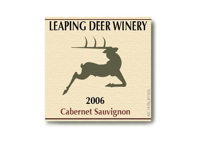 Steven Noble Illustrations Leaping Deer Winery