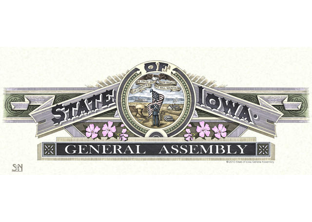 State of Iowa General Assembly Masthead