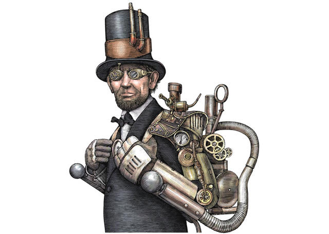 "Abraham Lincoln ""Steampunk"""