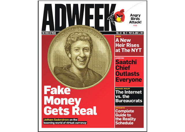 Adweek Magazine Cover