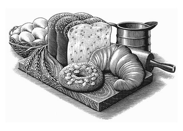 bread illustration