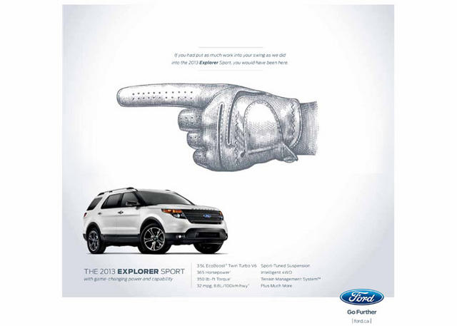 Ford ExplorerSport Ad