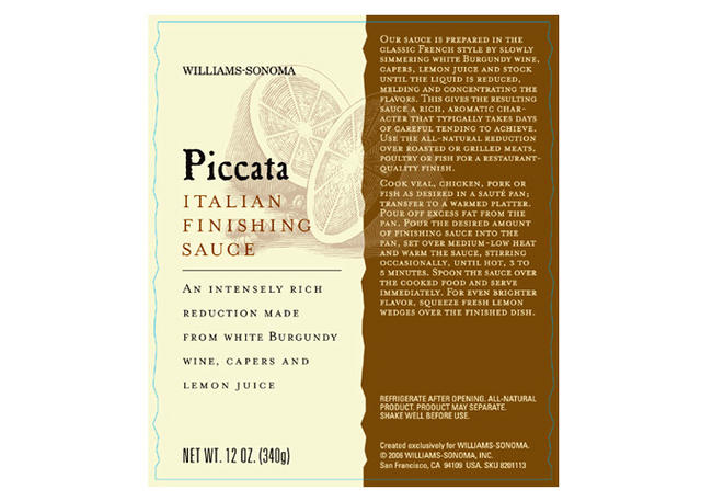 Piccata Finishing Sauce