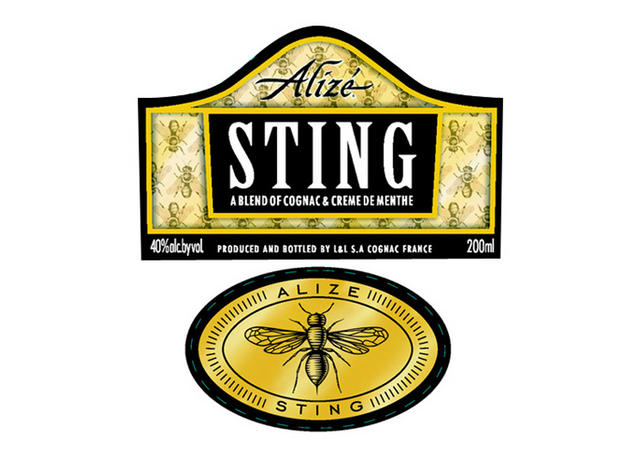 alize sting label