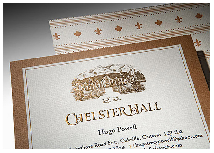 Chelster Hall Stationary