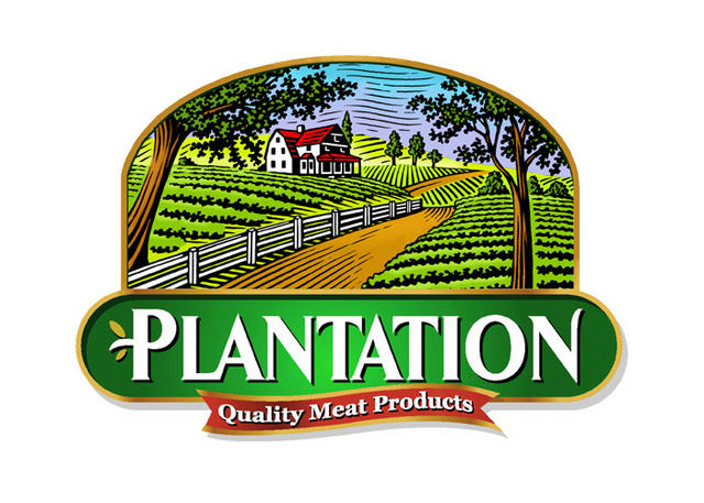 plantation label