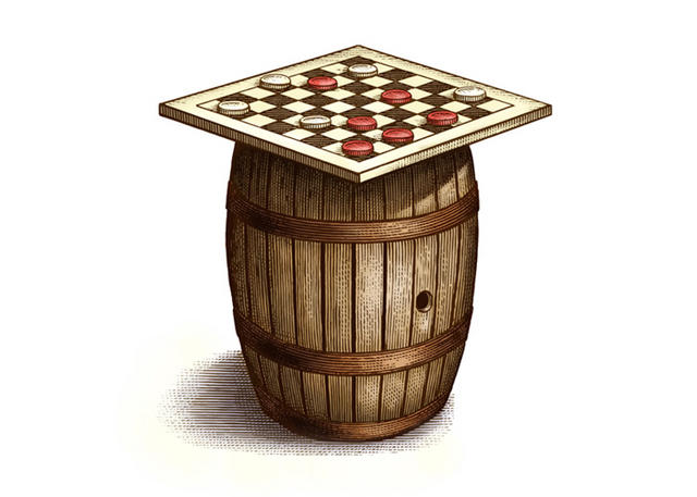 Checkers & Barrel