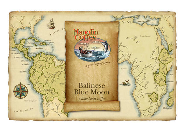 Manolin Coffee map