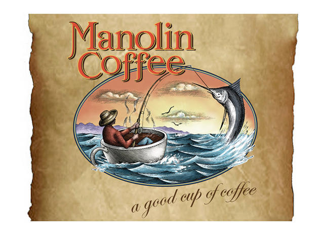 Manolin Coffee logo
