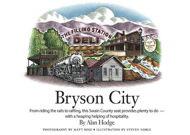 "Our State Magazine: ""Bryson City"""