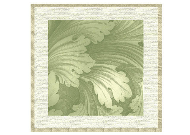 Decorative Engraved Leaves