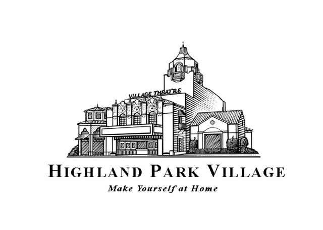 Highland Park Village logo