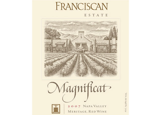 Franciscan Estate label