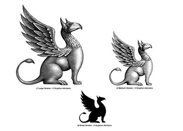 Gryphon Advisors Logo versions