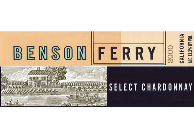 Benson Ferry label